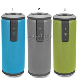 Wholesale W king Bluetooth Speaker Portable Music Player Supporting TF Card and NFC for Smartphone Tablet with retail package