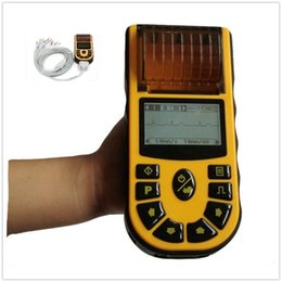 Wholesale CONTEC ECG80A Digital Single Channel ECG Machine Electrocardiograph Handheld lead Cardiology With USB Healthcare EKG