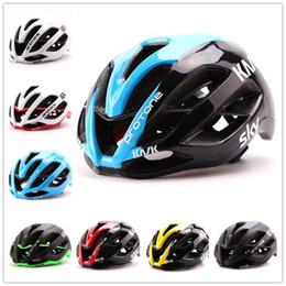 Wholesale Kask Protone Paul Smith Cycling Helmet Adjustable Bicycle Bike Road Mountain Unisex Shockproof ultralight with Visor M L CM free ship