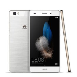 Wholesale In stock Original Huawei P8 Lite G LTE Mobile Phone Hisilicon Octa Core GB RAM GB ROM quot HD Android MP
