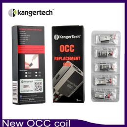 New Kanger Vertical Subtank OCC Coil clone Upgraded Subtank Coil 0.5 1.2 1.5ohm fit Kangertech Subtank Mini Nano Plus tank 0266021