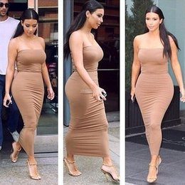 2017 robes bodycon kardashian Nice Fashion Sexy Party Dresses Clubbing Robes Pour Femmes Short Prom Clothing Slim Bodycon Le même paragraphe Kardashian Tee Dress fashion budget robes bodycon kardashian