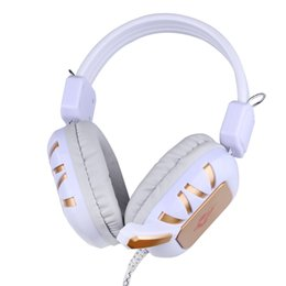 Professional Wired Game Gaming Headphone Headset Earphone Headband Over-Ear with Microphone for PC Computer Gaming peripherals