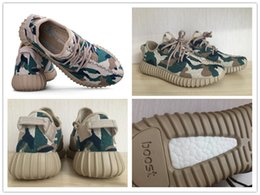 Wholesale 2016 Newest Hot Sell Camo Kanye West Boost Kendra Customs BB5052 Boost Sport Run Fashion Cheap Man Shoe Woman Shoe With Box