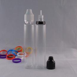 Hot Sale E liquid 30ml Clear Pen Shape Unicorn Bottle Pet Bottles E juice Plastic Dropper Bottles Twist Off Caps DHL Free