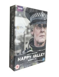 Wholesale In stock Happy Valley UK Factory Price DVD Boxset New free DHL shipping from gadgetexpress