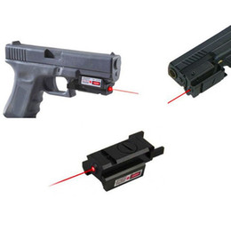 Wholesale Tactical nm Red Dot Laser Sight Scope With Picatinny Weaver Rail mm mm Mount For Glock