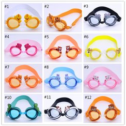 Children animal model swimming glasses children's Chinese zodiac pattern goggles fashion and lovely baby goggles A2016062807
