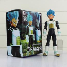 Wholesale Vegeta Dragon Ball Z BANPRESTO Master Stars Piece MSP Figures Super Saiyan God SS Vegeta PVC Action Figure Toy cm