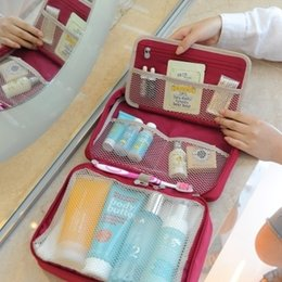 Wholesale Hot Women cosmetic bags office lady cute cosmetic box retail