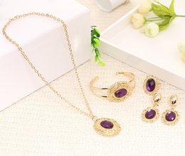 Wholesale Nigerian African jewelry set New model sexy women jewelry pendants have aroma absorption effect of gold jewelry