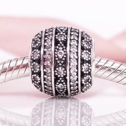 2017 Autumn Authentic S925 Sterling Silve Glittering Shapes Charm Fit European Pandora Chain Bracelet Necklace Jewelry 796243CZ charm