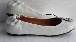 With Original Box hot sale 2016 new Special womens Genuine Leather Flat Ballets shoes