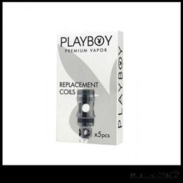 Best Price Playboy Coils Fit Vixen Mini Tank And Vixen Tank 0.1ohm 0.2ohm And 0.5ohm Fast Shipping By DHL Free