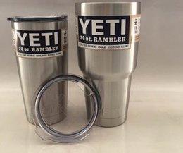 Wholesale 2016new Hot selling Rambler Tumbler oz and oz YETI Cups Cars Beer Mug Large Capacity Mug Tumblerful Cups big stock high quality