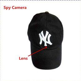 8GB Cap Hat Spy Camera Baseball Cap Hat hidden Candid Camera Video Camcorder With Remote Control Outdoor Mini DVR Video Recorder