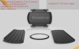 Wholesale MAGENE gemini200 Speed Sensor cadence ant Bluetooth for Strava garmin bryton bike bicycle computer Freeshipping