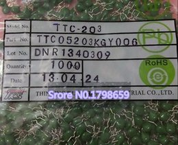 Wholesale New original NTC203 TTC TTC05203KGY006 TTC203 K5MM DIP thermistor