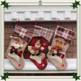 Wholesale High Quality European style big brother ski Christmas socks Creative gifts of candy socks Christmas stockings for festive hot sale