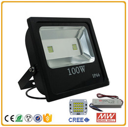 2016 new model High Power CE RoHS IP65 Outdoor Led Flood Lighting 100W industrial lights fixture AC85-265V for Building Park Square