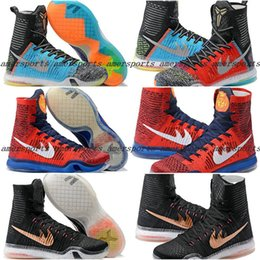 Wholesale 2016 New Kobe X Basketball Shoes Elite What The For Sale Men Retro Sneakers High Cut Weaving Sports Shoes Cheap On Sale Basketball Shoes