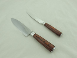 Wholesale Most Deluxe Gift Knife Set Hot Selling Damascus Knives for Kitchen with Discount and Coupon
