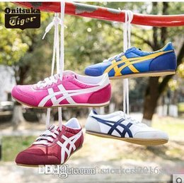 Wholesale Asics Onitsuka Tiger New Style Flat shoes Running Shoes for Mens And Womens Comfortable Athletic Outdoor Sport Sneakers Eur