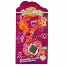 Wholesale Hot Selling Tamagotchi handheld virtual pet game colors digital plastic machine game