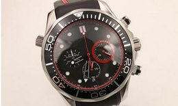 Hot Sale Elegant Quartz Stopwatch Men's Wristwatch Ti3 Black Face Rubber Band America 's Club Professional Male Watch