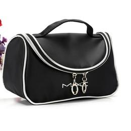 Wholesale Hot Brand M A C Makeup Cosmetic Bags Retro Beauty Wash Case Zipper Handbag Make up Bags