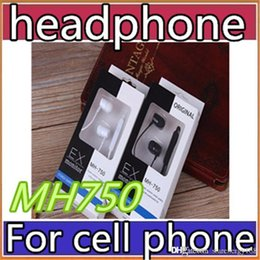 Sony MH-750 in ear headphones Line control earphone 3.5mm stereo headsets with Mic and volume control headphones for Samsung android N-EJ