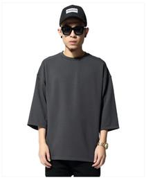 Hot Season 1 Fashion Style Summer T-shirt Streetwear Half Sleeve O-neck West Tops Tees Oversize S-3XL