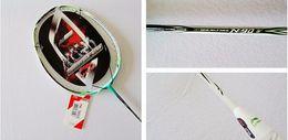 Wholesale HOT N90 N90 lining badminton rackets N90iii high end nano carbon badminton racquet free shipment NEW Fashion Sport