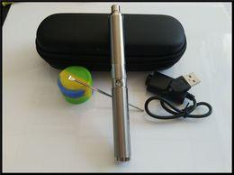 C-Rig Concentrate Vaporizers dual ceramic coil yocan wax vaporizer pen e cigarette wax dab smoking vape pen starter kit