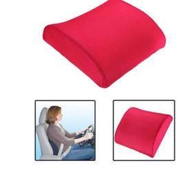 Promotion oreillers de soutien lombaire Livraison gratuite Mousse de mémoire lombaire dos soutien Coussin Coussin Home Chaise de voiture