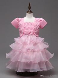 Shawl Sling Girls Robes brodé Princesse Dress Quatre couleurs 5 Taille pour les filles Meilleur Vêtements Livraison gratuite C0193 à partir de robe princesse fronde fabricateur