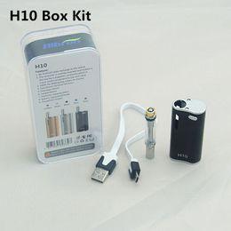 100% Original Newest Hibron E cigs H10 CE3 Atomizer vape box mod Kit With Ecigarette H10 vaporizer pen cartridges starter kits DHL