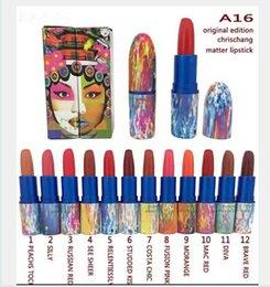 Wholesale New Makeup Chris Chang Matte Lipstick Color
