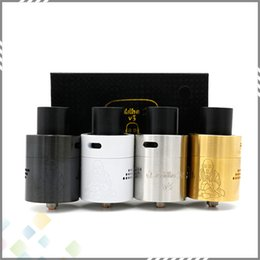 Wholesale Best Zephyr Buddha Z v3 RDA Rebuildable Atomizers Dual Post Design PEEK Insulator with AFC Drip Tip fit Mod DHL Free