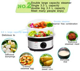 Wholesale SAVTM electric steamer boiled egg apparatus steamer multi functional household mini large capacity steam pot