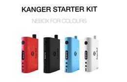 100% Original Kanger Nebox Kit - Nebox Starter Kit 10ml nebox kit 60w tc mod rda atomizer fit OCC coils Ni200 vs kanger