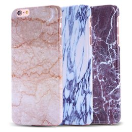 Wholesale Stone Granite Marble Texture Pattern PC Case for iPhone s plus Thin Back Cover Protective Accessories for iphon s