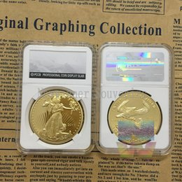 Wholesale 2011 Eagle gold coin United States of America Liberty walking coins NGC style with PCCBCapsule case