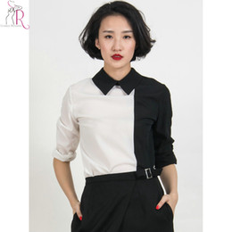 Black Long Sleeve Shirt White Collar Samples, Black Long Sleeve ...