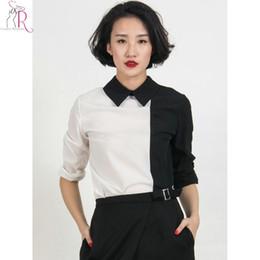 Black Long Sleeve Shirt White Collar Samples, Black Long Sleeve ...