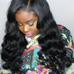 Human Hair Lace Wigs Indian Hair Lace Front Wigs For Black Women Medium Cap Curly Side Part Natural Color Bellahair