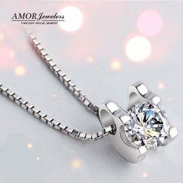 Wholesale Delicate and graceful diamond pendant necklaces PT950 platinum air freight