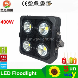 Wholesale Outdoor flooding Light LED Project Lights W Floodlights Super Bright Warehouse Gas Station Staduim Gymnasium Light AC95 V Meanwell