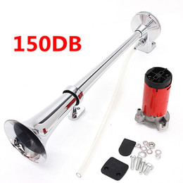 Wholesale 150DB Super Loud V Single Trumpet Air Horn Compressor Truck Lorry Boat Train