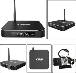 Definición entorno en Línea-S905 android 5.1 TV de alta definición caja de caja de set-top box T95 WiF 4 k I exportar el reproductor de red